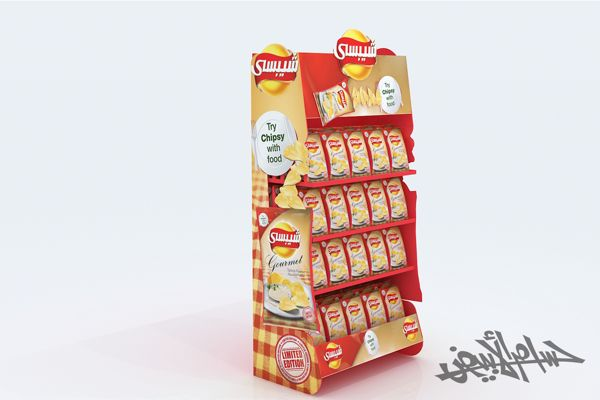 Chipsy New Flavors ( Gondola , Stand 2 Options ) on Behance
