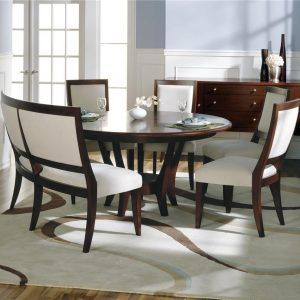 Round Kitchen Table Sets With Bench
