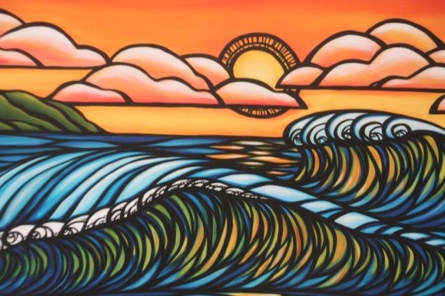 Heather Brown Haliewa Sunset