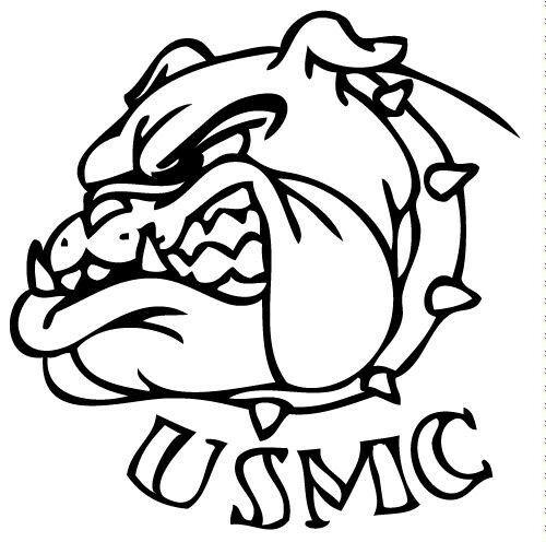 marine bulldog drawings tattoos art pinterest marine corps