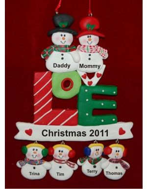145 best Family Ornaments images on Pinterest  Personalized
