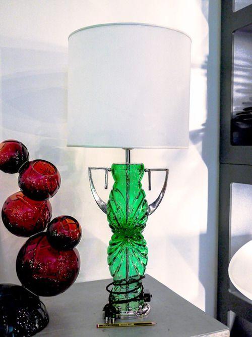 Muse Table Lamp 2015 - Lucescultura - Marcello Mastromatteo #art #design #industrial #designer #housewares #houseware #glass #cristal #marcello #mastromatteo #luxory #charme #excellence #made #in #italy #eccellenza #italiana #italia #bronzi #bronze #gold #silver #oro #argento #table #lamp