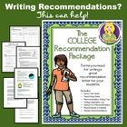 coalition application do you need teacher recommendations