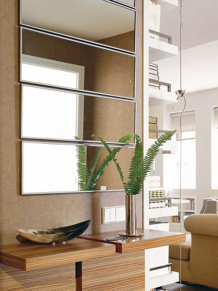 Recibidores una nueva dimensi n recibidor recibidor for Espejos rectangulares horizontales