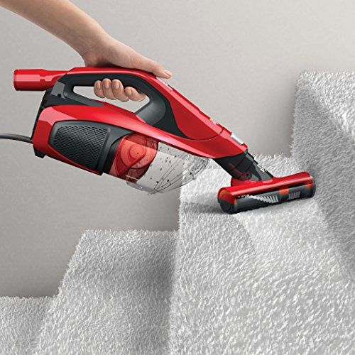 Best Vacuum For Stairs 2017: Dirt Devil Vacuum Cleaner 360 Reach Pro Corded Bagless Stick and Handheld Vacuum SD12515B