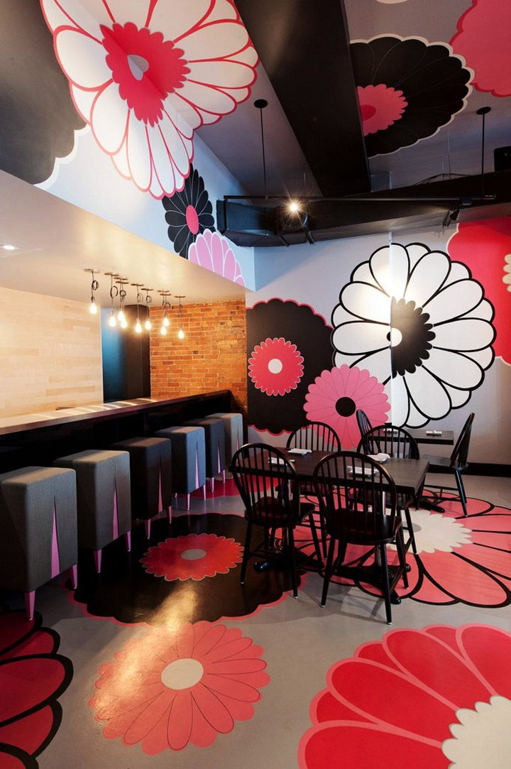 Kinoya Japanese Bistro By Jean De Lessard Montreal Retail Design Blog