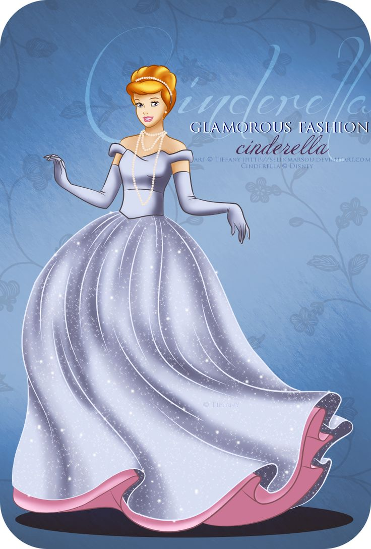 Glamorous fashion cinderella