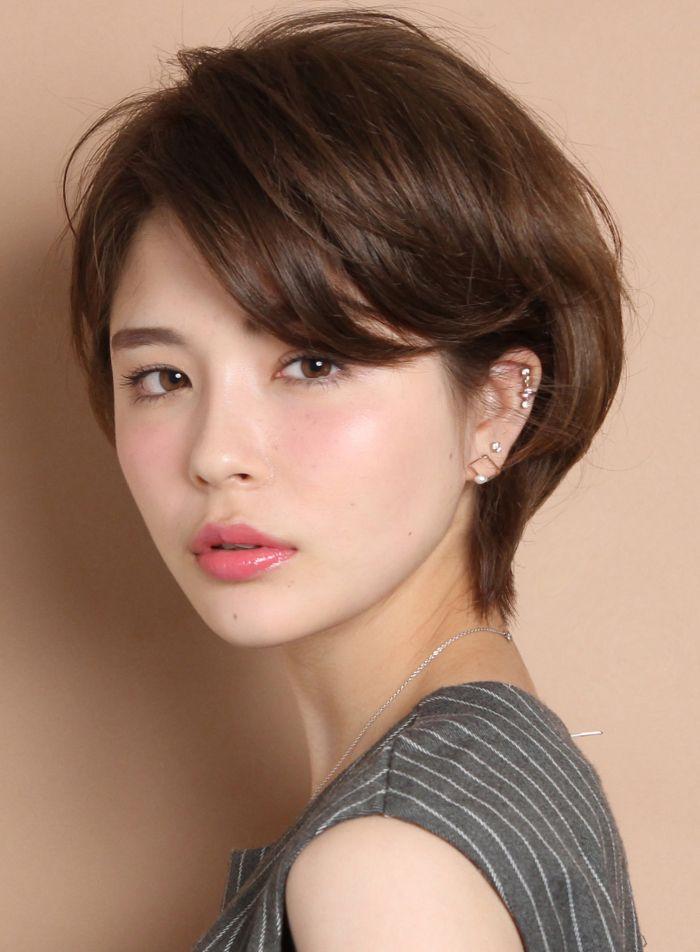 ☆カットで立体的に☆大人エアリーショート|髪型・ヘアスタイル・ヘアカタログ|ビューティーナビ
