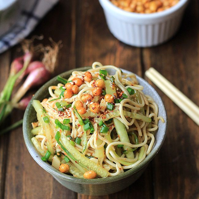 Chicken Noodle Salad- Sichuan Style | Recipe | Chicken noodles, China ...