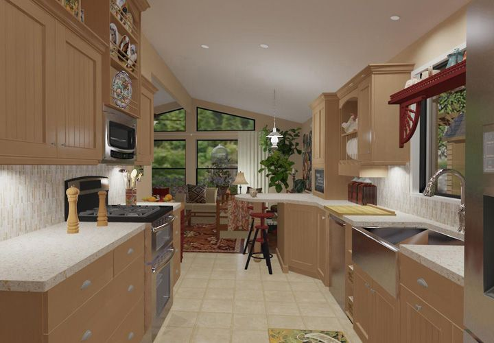 Interior Pictures Triple Wide Mobile Homes | Remodeling
