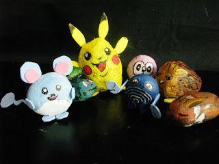 Pomysły plastyczne dla każdego, DiY - Joanna Wajdenfeld: Zabawa pokemonami