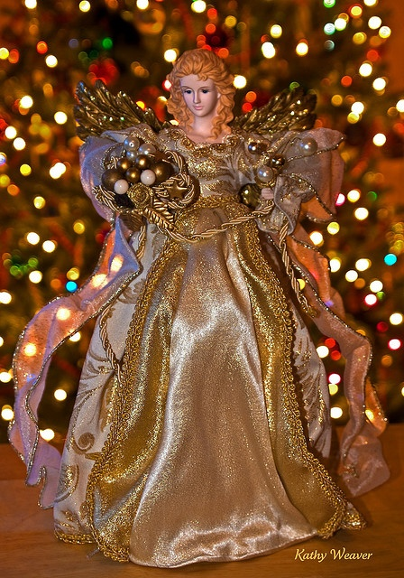 Christmas Angel - I have this tree topper.