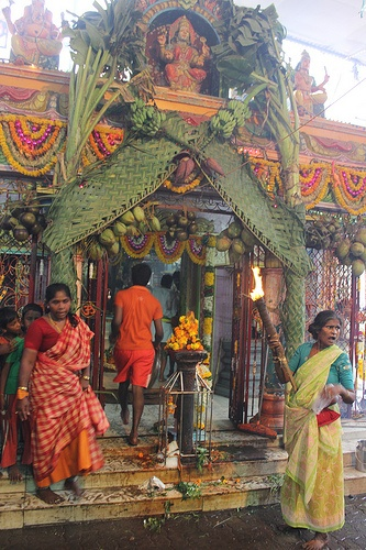 Goddess Marriamman Temple of Hope Nehru Nagar Juhu