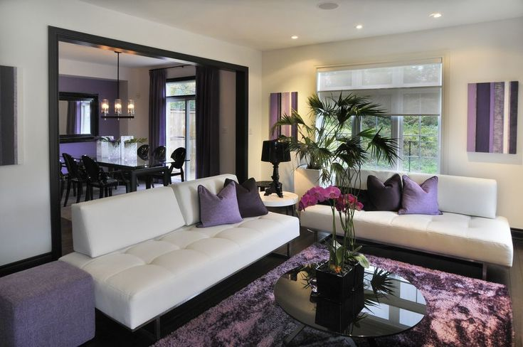 Pantone's 2018 Colour of the Year is Ultra Violet and it is surprisingly accessible when paired with classic neutrals such as Black and White.