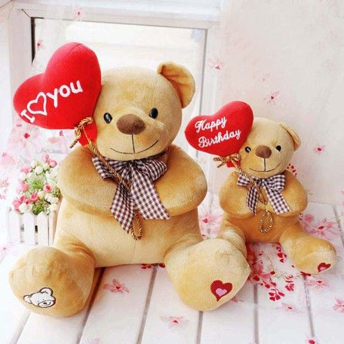 Lovely Stuffed Animal Plush Teddy Bear for Birthday Giftat EVToys.com