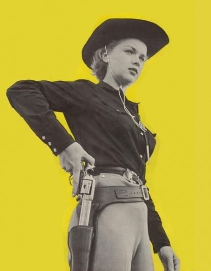 Vintage Western Cowgirl