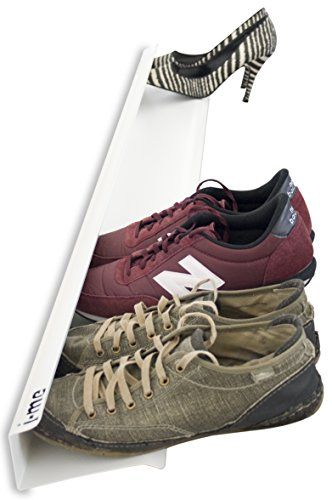 j-me Shoe Rack Horizontal Wall-mounted Shoe Shelf Shoe Ho... http://smile.amazon.com/dp/B00J62RKNI/ref=cm_sw_r_pi_dp_7r4jxb0S2SXX6. Thinking this would also work as a discreet mounting for LED bar or rope light when installed near the ceiling....