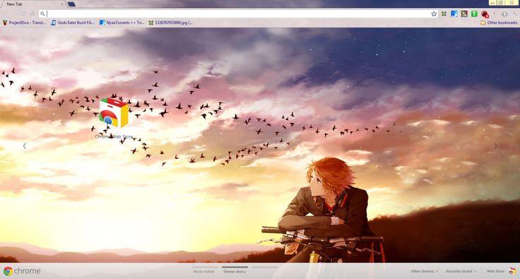 Google Wallpaper Themes | Google Chrome Background Anime Themes