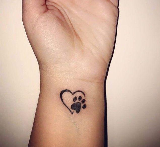 Tattoo Hund Klein