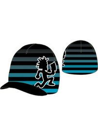 ICP Striped BIll Beanie I designed for Bioworld. Available at Hastings