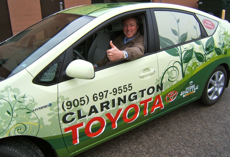 When Don Gleed from Clarington Toyota approached us to wrap his hybrid shuttle we really enjoyed the experience. Taking our passion for environmental concerns we designed a truly green theme.