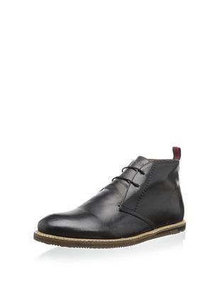 60% OFF Ben Sherman Men's Aberdeen Leather Chukka (Black)