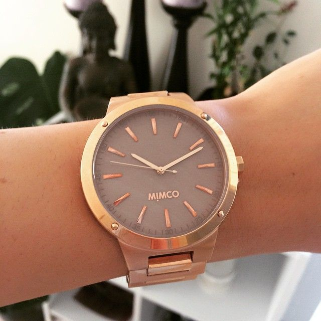 Mimco - $299 - fttp://www.mimco.com.au/shop/jewellery/timepeace-watches/metal-bands/dietrich-timepeace-60169103-666