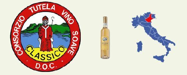 Recioto di Soave DOCG Zona di produzione: territorio collinare di parte dei comuni di Soave, Monteforte d'Alpone, San Martino Buon Albergo, Mezzane di Sotto, Roncà, Montecchia di Crosara, San Giovanni Ilarione, Cazzano di Tramigna, Colognola ai Colli, Illasi e Lavagno in provincia di Verona. Il Recioto è un vino di antichissima tradizione. L'esistenza nel territorio veronese di un vino bianco dolce, simile all'attuale Recioto di Soave, è testimoniata ancora nel V secolo, nella famosa…