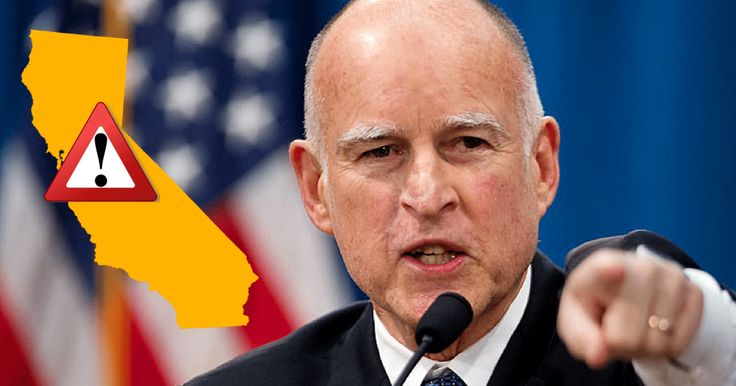 Jerry Brown Signs Political Death Warrant…Massive Tax Law Angers Millions!