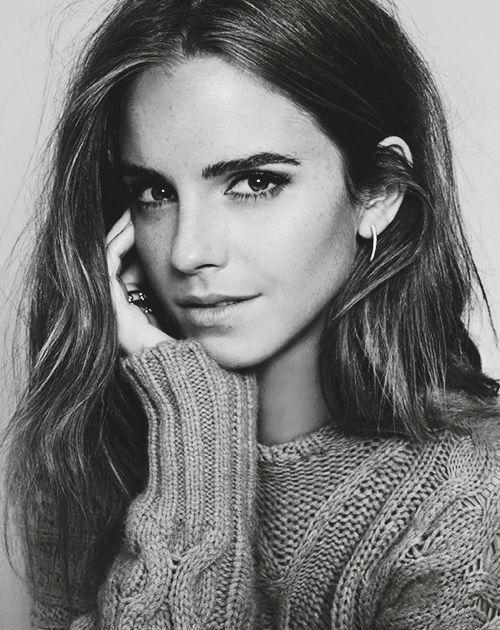 Lange Haare Frauen Styles: Moodatlas: Emma Watson ELLE Spanien Oktober 2015 Emma Watson ist irgendwie im Management