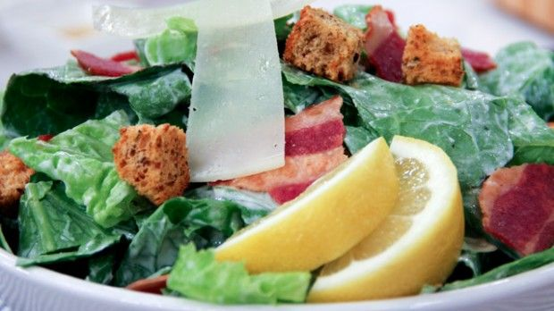Dish Do-Over: Caesar Salad | Steven and Chris | Chef Jo Lusted has made a fantastic lightened-up Caesar salad with the fraction of the fat.