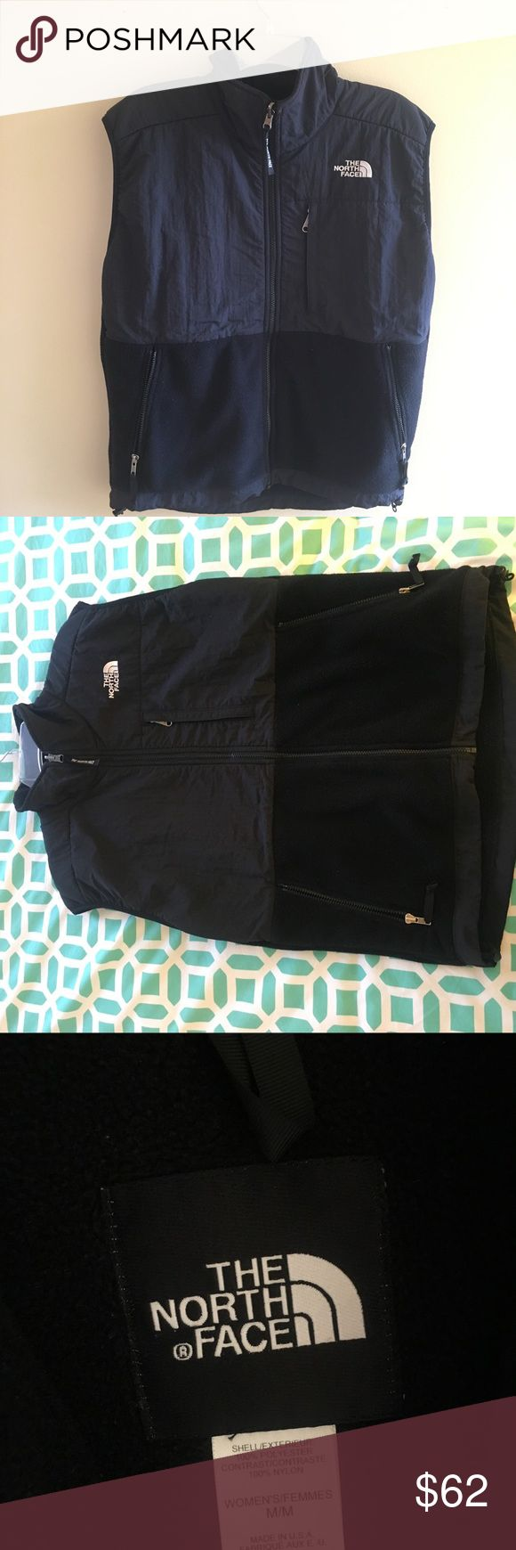 Black North Face Fleece Vest Black north face fleece vest. Size medium women's, but definitely could work for men too. Great condition, hardly worn. Large pockets. Great for winter/fall!! North Face Jackets & Coats Vests