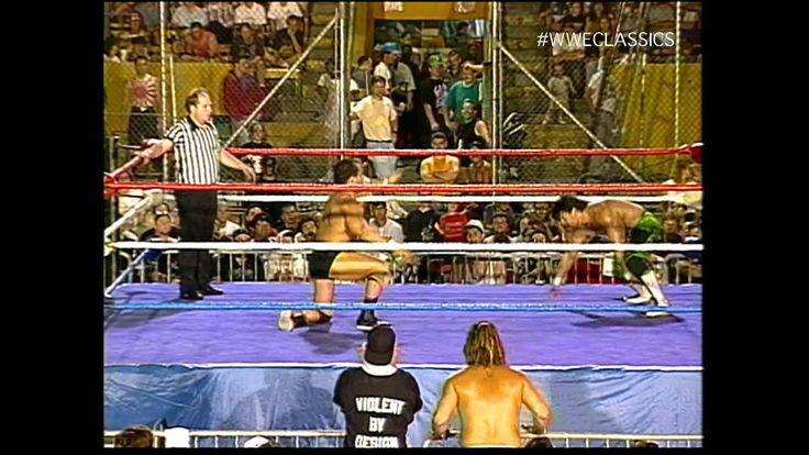 Eddy Guerrero[EG] opposes  Dean Malenko [DM] - 95  Squared Circle Action