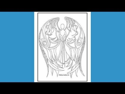 Reina Cottier Art Colouring Book Series Two.