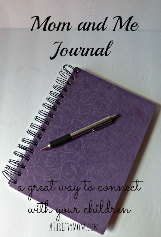 Mom and Me Journal a great way to connect with your children #ParentingTips #Kids #Journal