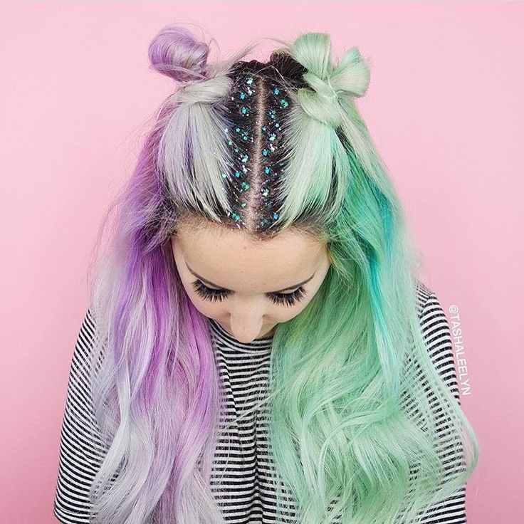 Colours, Buns, Glitter, Ombre... what else can we ask for?