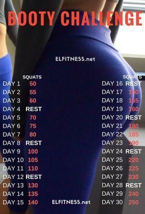Die 30-tägige Kniebeugen-Herausforderung kann von jedermann durchgeführt werden, da dies sehr einfach und unkompliziert ist