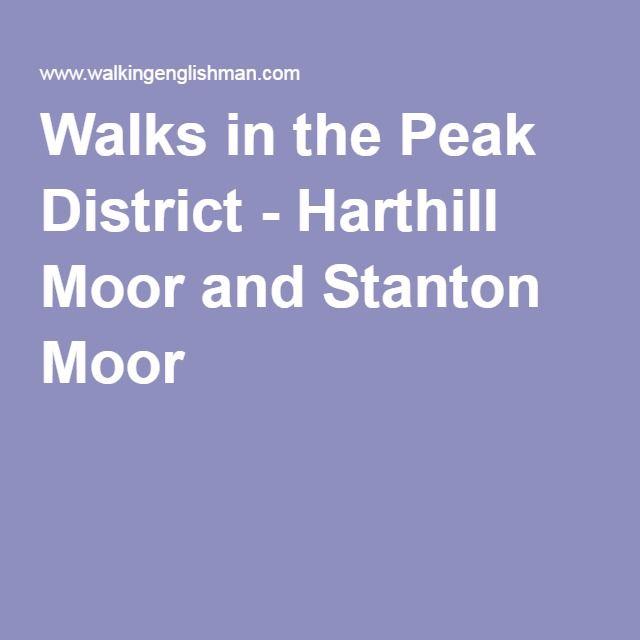 Walks in the Peak District - Harthill Moor and Stanton Moor