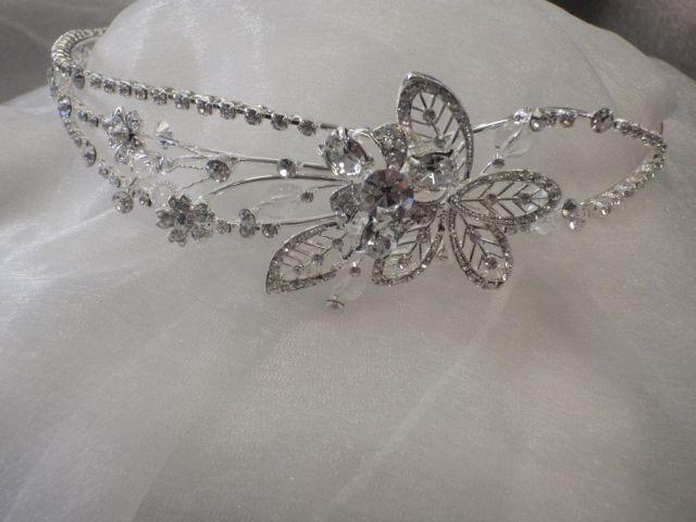Crystal Rhinestone Headbands Order online www.weddingwonderland.com.au