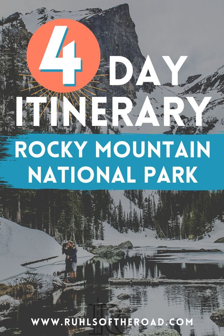 4 Incredible Days Hiking Rocky Mountain National Park Vlog In 2020 National Parks Trip Colorado Travel North America Travel