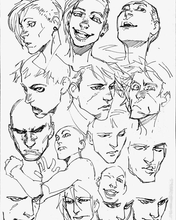 эмоциональные рисунки человека