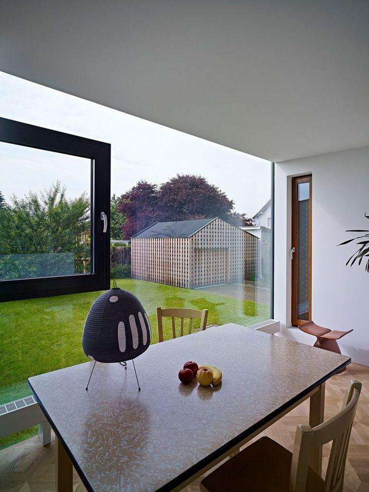 Die besten 25+ Bodentiefe fenster Ideen auf Pinterest - wohnzimmer ideen dachgeschoss
