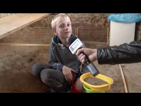 Haarlem doet mee aan eerste Nationale Archeologiedagen | Haarlem105 - YouTube