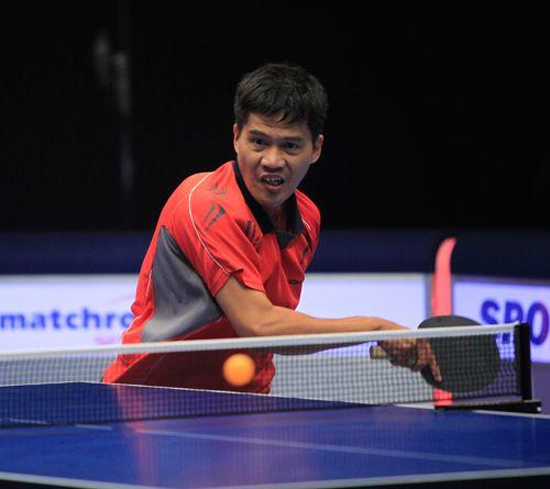 Edwin Suarez professional table tennis player