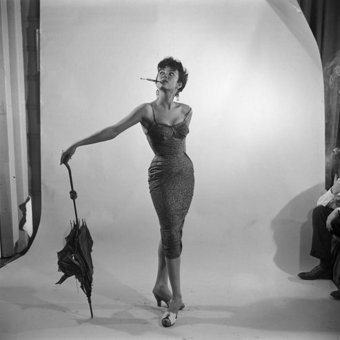 Not published in LIFE. Rita Moreno, 1954.