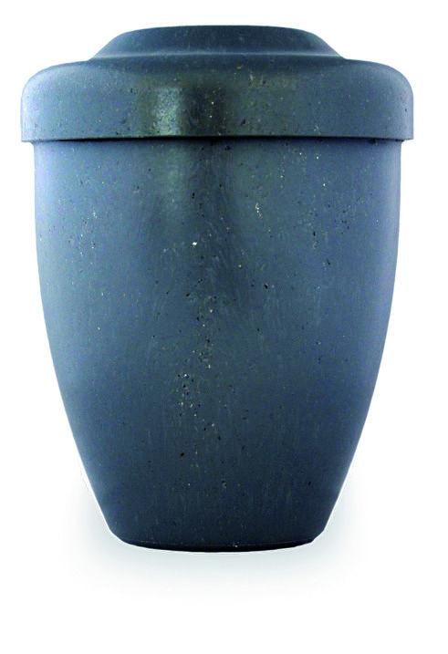 Urna Funeraria para cenizas 100% biodegradable. Serie Azrael Modelo Apriza Grey.