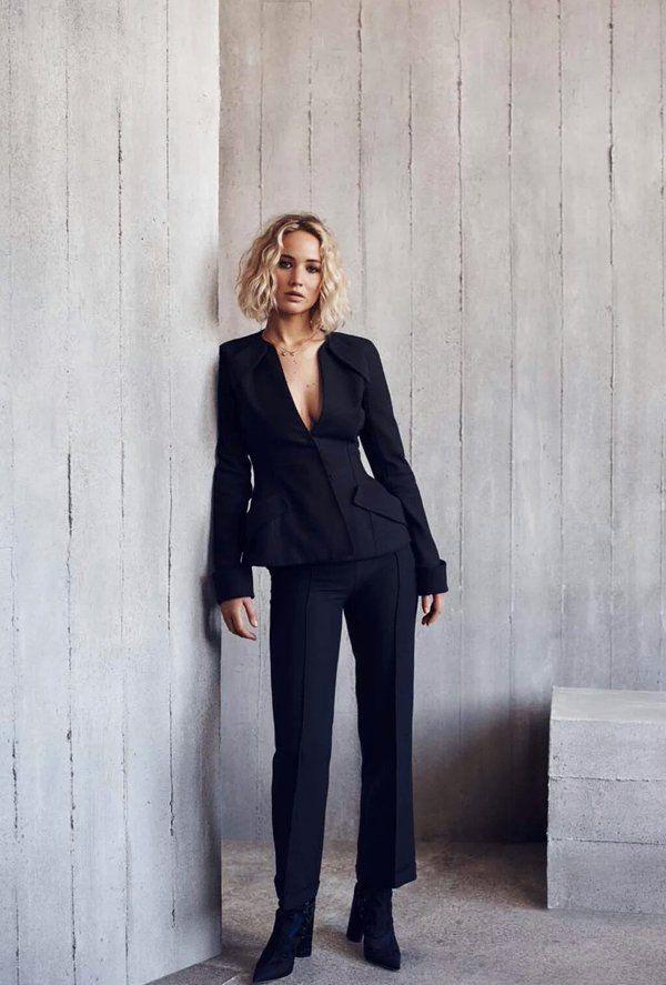 Jennifer Lawrence's photoshoot for Elle Malaysia - (January 2016)