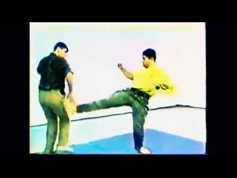 Systema kick defense (slow motion) - Vladimir Vasiliev