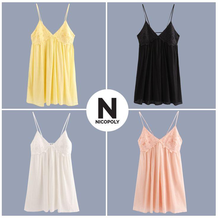 Elige tu vestido Nicopoly y capea el calor