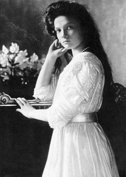 The Romanovs -Tatiana Nicholaevna was the second child of Alexandra and Nicholas.